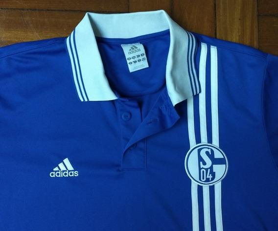 Camisa Schalke 04 Original adidas Retro Reedição De 1997