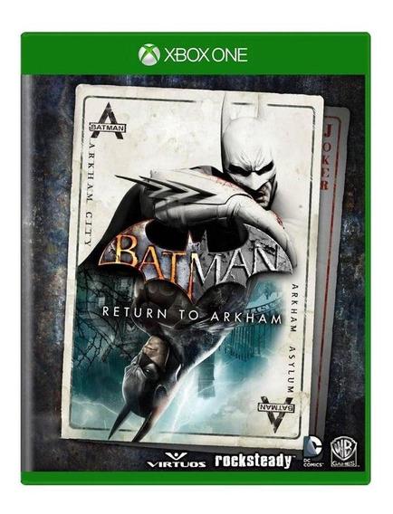 Batman Return To Arkham Xbox One Mídia Física Pronta Entrega