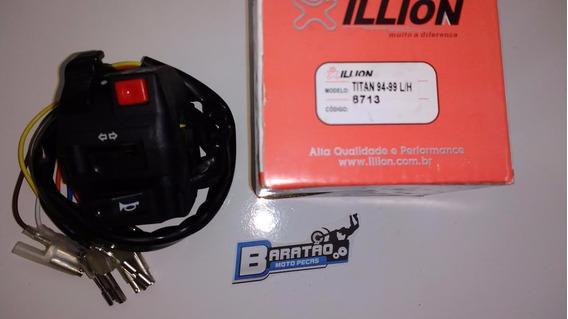 Punho Interruptor Esquerdo Luz Pisca Buzina Titan 125 94 99