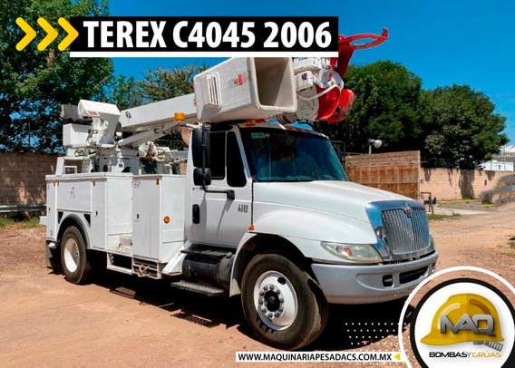 Grua Electrica International - Terex Digger 2007