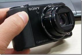 Camera Sony Cyber Shot Dsc- Hx9v S/cabo/bateria Frete Gratis