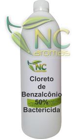Cloreto De Benzalcônio 50% 1 Lt Bactericida