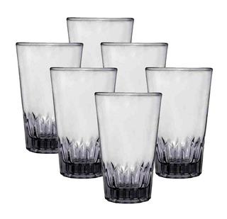 Juego De 6 Vasos De Vidrio Triana 10 Oz