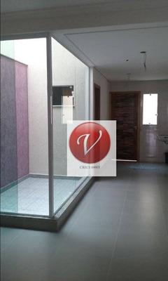 Sobrado Com 3 Dormitórios Para Alugar, 110 M² Por R$ 2.200/mês - Jardim Stella - Santo André/sp - So0655