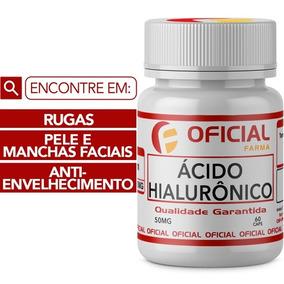 Suplemento Ácido Hialurônico 50mg Frasco 60 Cápsulas -79