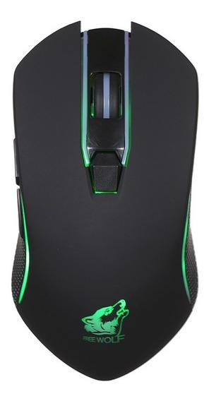 Lobo Livre Gaming Mouse Sem Fio Com 1600 Dpi Silencioso