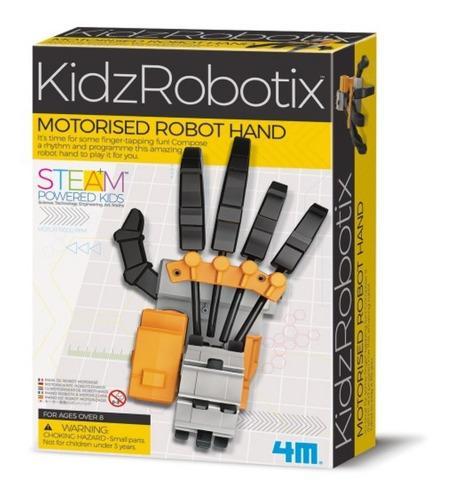 Robot Mano Motorizada
