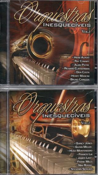 Kit Com 2 Cds Orquestras Inesquecíveis - Vol.1 E 2