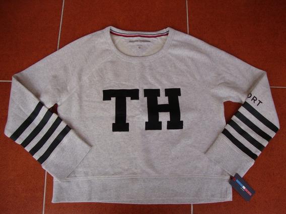 @ Sudadera Tommy Hilfiger Sport De Mujer Nueva Con Etiquetas