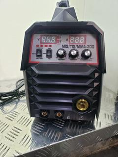 Maquina De Soldar Mig Y Arco Manual 250 Amp Mykkon