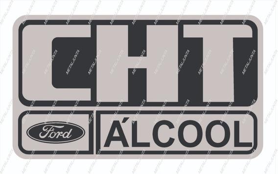 Adesivo Cht Alcool Tampa Filtro Ar Ford Escort Del Rey