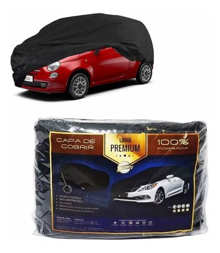 Imagem 1 de 3 de Capa Couro Cobrir Fiat 500 Forro Total (p308)
