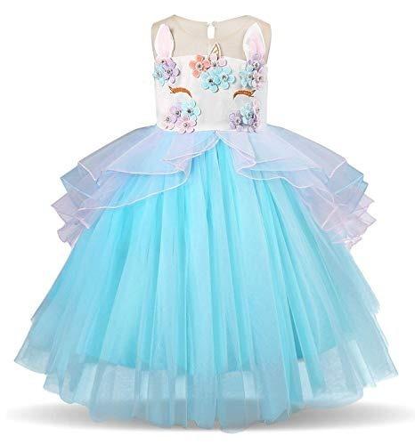 Vestido Color Coral De Niña Elegante Organza Fiesta Boda