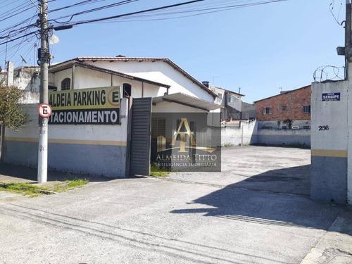 Excelente Terreno Comercial Disponível Para Locação No Bairro Aldeia De Barueri - Confira!!! - Te0589