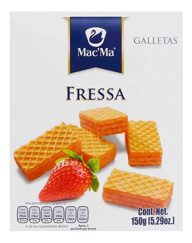 Imagen 1 de 2 de Galleta Macma Fressa 150g