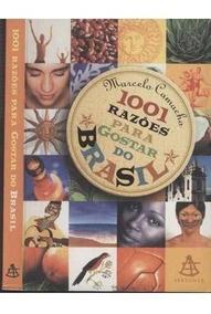 Livro 1001 Razões Para Gostar Do Brasil + Brinde.