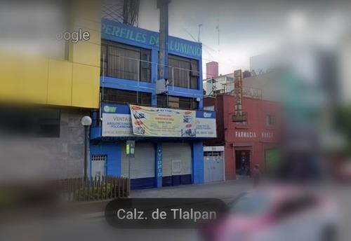Vendo Edificio Sobre Tlalpan (portales) $14,900,000