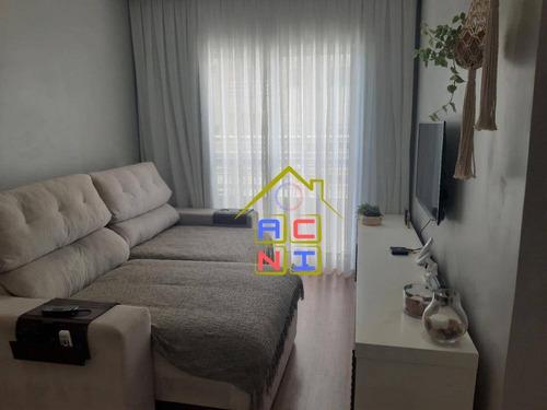 Apartamento Com 3 Dormitórios À Venda, 73 M² Por R$ 370.000 - Condomínio Parque Das Rosas - Hortolândia/sp - Ap0094