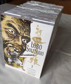 Mangá Novo Lobo Solitário Coleção Completa + Episódios Raros