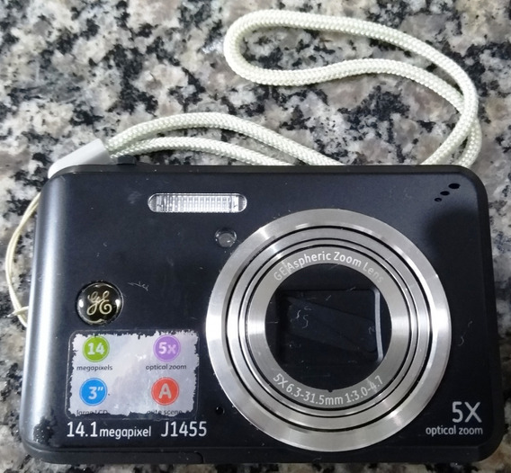 Câmera Digital Ge 14.1 + Bateria + Carregador + Cartão 4gb