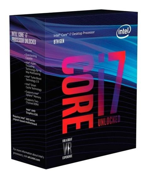 Processador Intel Core I7-8700k Coffee Lake 4.7ghz 12m