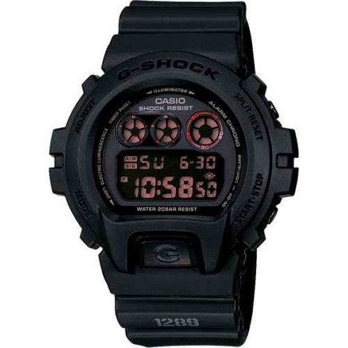 Relógio Casio G-shock Dw-6900ms-1dr Resistente A Choques Nf
