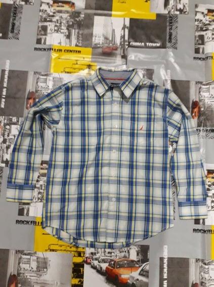 Camisa Nautica Niño T-10/12 N-polo Hilfiger Calvin Klein