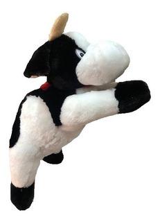 Vaca De Peluche Echada 95cm