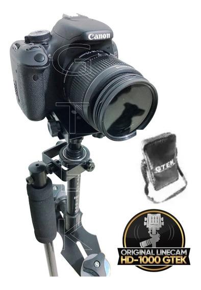 Steadycam Linecam Hd-1000 Gtek Estabilizador De Imagem Dslr