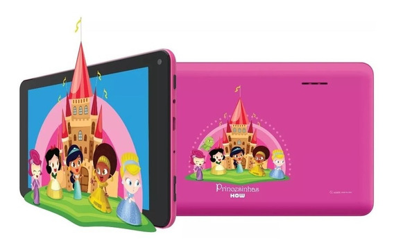 Tablet How Ht-705 Max Quad 8gb Android 7.1 Ram 1gb + Capa