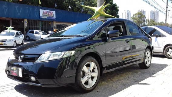 Honda Civic Lxs Flex 2008 Ótimo Estado $ 28990 Financiamos