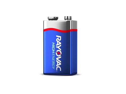 Imagen 1 de 9 de Bateria 9v Rayovac Pila Alcalina C
