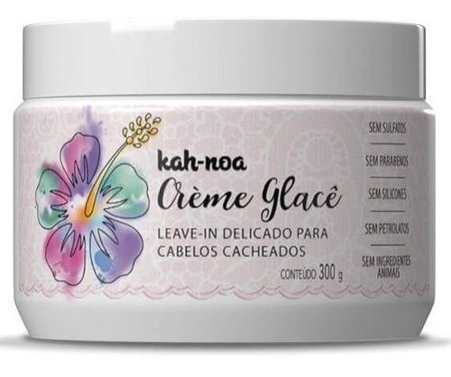 Imagem 1 de 3 de Crème Glacê Leave In Cabelos Cacheados 300g - Kah Noa