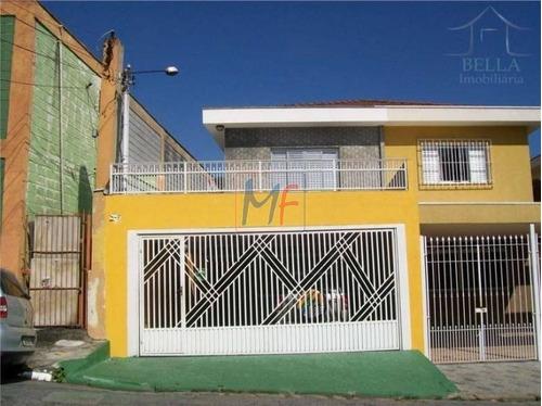 Imagem 1 de 19 de Ref 11.288 Excelente Sobrado No Bairro Vila Barreto, Com 3 Dorms, 2 Vagas, 200 M² Área De Lazer, Documentação Em Ordem, Aceita Propostas. - 11288