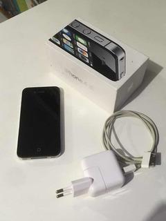 iPhone 4s 8gb Original Desbloqueado Funcionando Caixa E Carregador