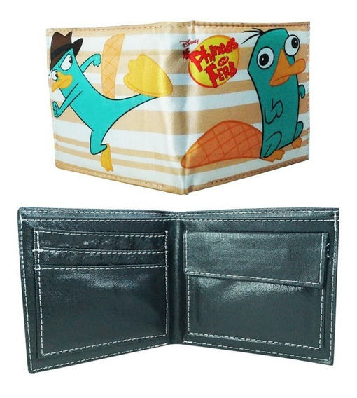 Phineas Y Pherb Cartera Agente P Perry
