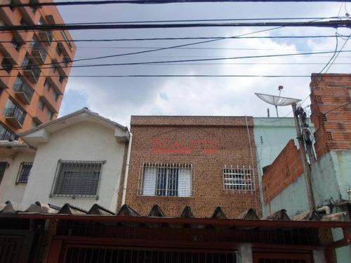 Sobrado Com 3 Dormitórios À Venda, 145 M² Por R$ 600.000,00 - Campos Elíseos - São Paulo/sp - So0005