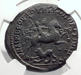 Moeda Bronze Império Romano Heliogábalo Imperador Caracalla