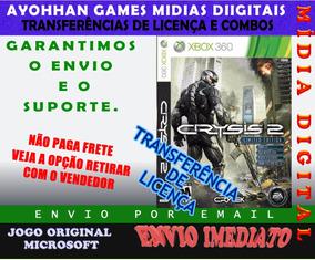 Crysis 2 Xbox Mídia Digital Ayohhan Games