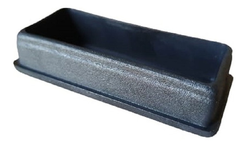 Regaton Plastico Interior Rectangular 30x70 Mm X 10 Unid