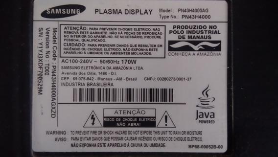 Placa Principal Tv Samsung Pn43h40000ag
