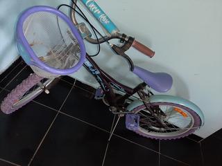 Bicicleta Aro 26 Roxa E Azul
