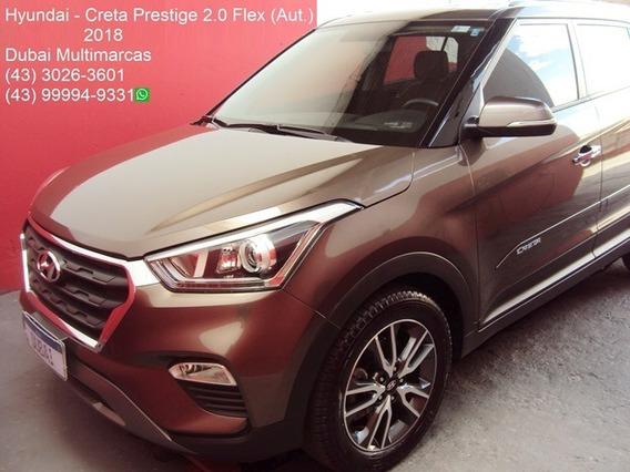 Hyundai - Creta Prestige 2.0 Flex (aut.) - Placa A - 2018