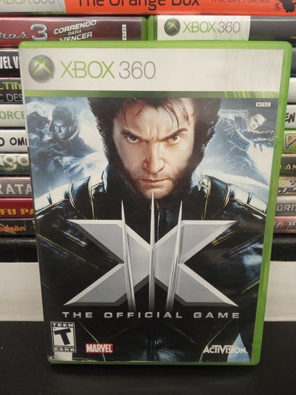 X Men The Official Game Xbox 360