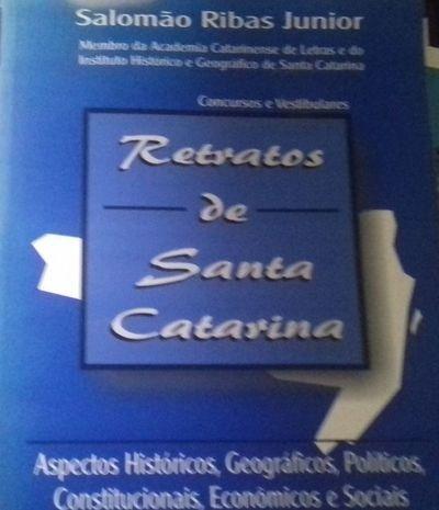 Livro Retratos De Santa Catarina Salomão Ribas Junior