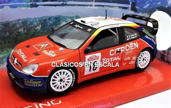 Citroen Xsara 2003 Loeb World Champion - Rally Solido 1/18