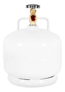 Cilindro-tanque Para Gas 2kg Flamineta Color Blanco