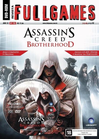 Assassins Creed Brotherhood - Pc - Mídia Física - Lacrado