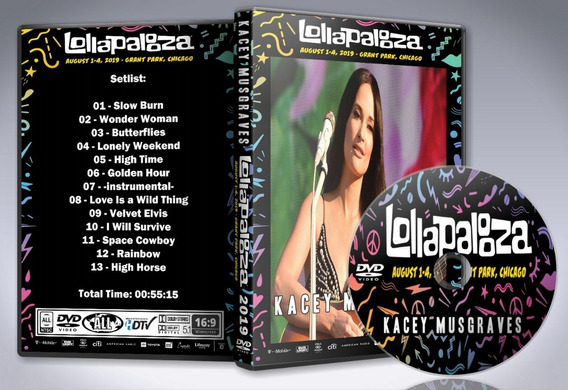 Dvd Kacey Musgraves - Lollapalooza Chicago 2019