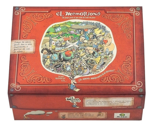 Imagen 1 de 3 de Juego de mesa El Memorioso Maldón